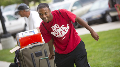 Campus move-in begins