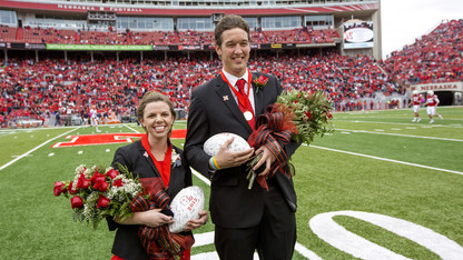 Olson, Lechtenberg crowned Homecoming king, queen