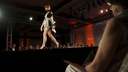 Model call for the biennial runway show