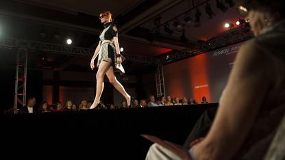 Model call for the biennial runway show