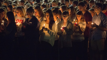 Candlelight vigil to support victims, families of Orlando shooting