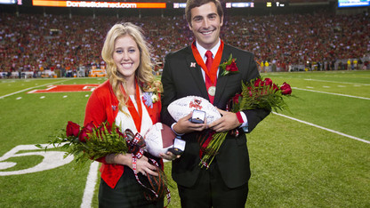 Kruse, Story crowned Homecoming royalty