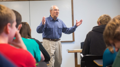Berger to deliver last lecture before retirement
