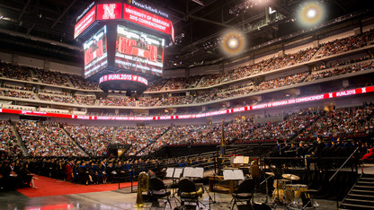 UNL awards record 2,972 degrees to spring graduates