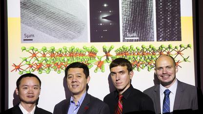 UNL chemists: New 2-D material's properties show promise
