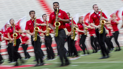 Cornhusker Marching Band exhibition is Aug. 19