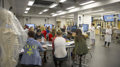 Redesigned lab spaces open in Manter Hall