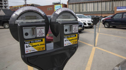 Alumnus squares parking fines — 41 years later