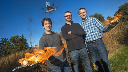 Fire-starting drone could aid in conservation, fire prevention