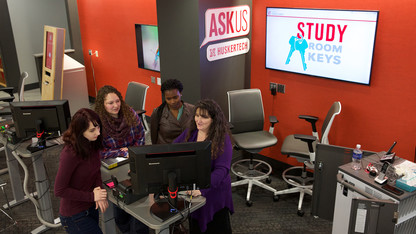 Learning Commons offers new study, collaboration space