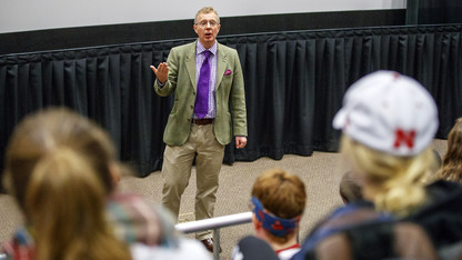 British historian visits Nebraska