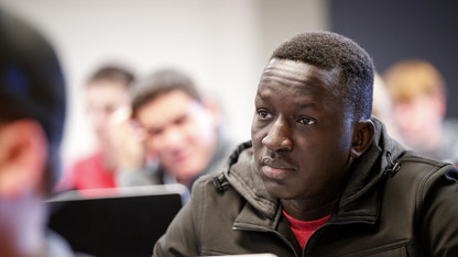 From refugee to intern, UN shaped South Sudanese student's life
