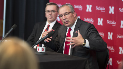 Program-builder Bill Moos is Nebraska's new director of athletics