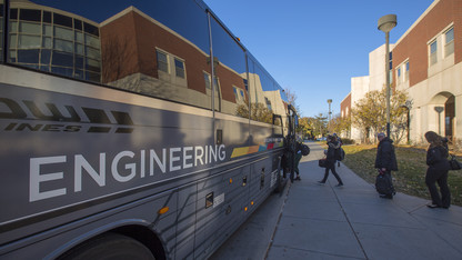 An Hour on Campus: N-E Ride Shuttle