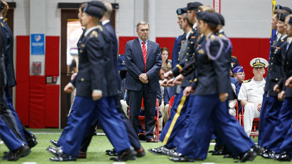 25 ROTC cadets receive military commissions
