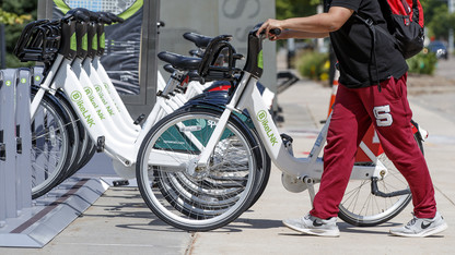 Bike-share service gears up for Nebraska's fall semester