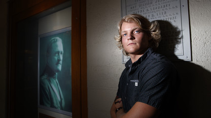 Husker sets career path with Department of Defense scholarship
