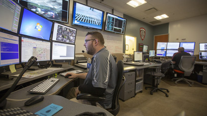 Dispatch team protects, supports university police
