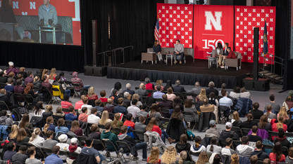 Nearly 600 attend conversation with Sen. Sasse