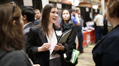 Career Services offering events for students, faculty