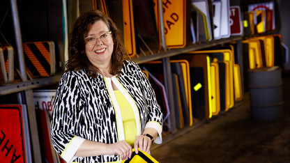 Dingman strives to be a leader for women in engineering