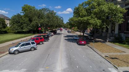 R Street renovation features bike lanes, parking adjustments