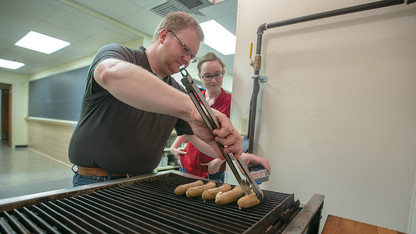 Husker-crafted brat sizzles to second national crown
