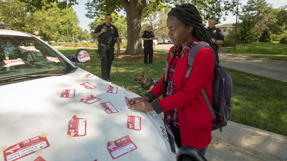 'Cover the Cruiser' unites campus against sexual violence