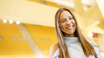 Husker rolls with opportunities toward future career