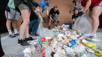 Trash or treasure? Huskers help LPS boost recycling, composting