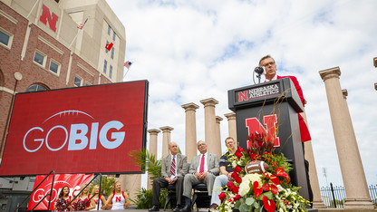 Nebraska announces 'Go Big' athletic facility