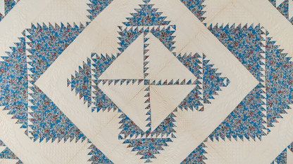 Exhibition explores the history of American block quilts