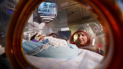 Team creates buzz by showing how 'quiet time' benefits NICU babies