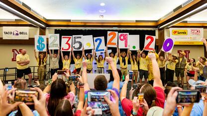 HuskerThon raises $235K for Children's Miracle Network