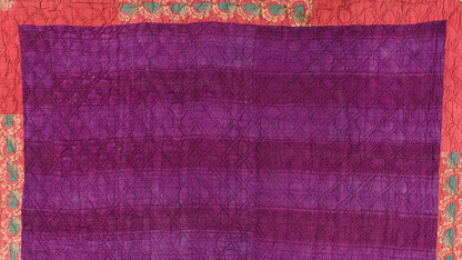 'Color and Contour' showcases French quilts