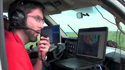 UNL leading group studying severe weather with drones