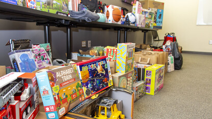 Huskers step up big with donations in November
