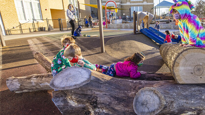 Children's Center adds all-natural playground
