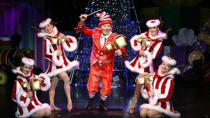 Cirque Dreams brings holiday production to Lied
