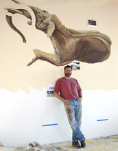 Exhibit features work by scientific illustrator, painter