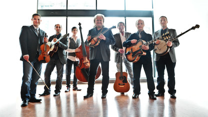 Ricky Skaggs, Kentucky Thunder to play Lied debut Oct. 17
