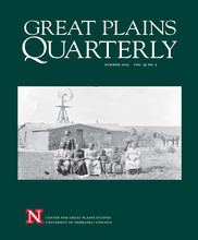 Newspaper coverage of missile project featured in Great Plains Quarterly