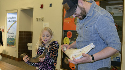 Families invited to paleontology event Oct. 22
