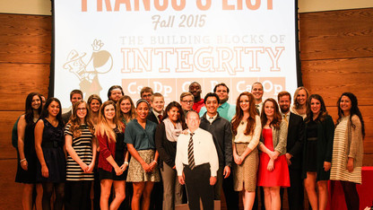 29 students named to 'Franco's List' for character, integrity