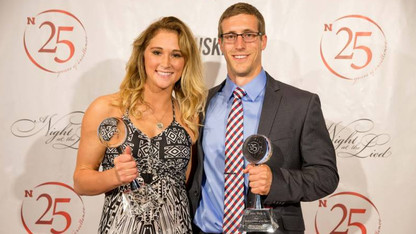 Welk, DeZiel are Huskers' student-athletes of the year