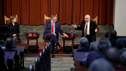 Experts discuss international trade during Heuermann Lecture