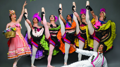 Les Ballets Trockadero de Monte Carlo to perform