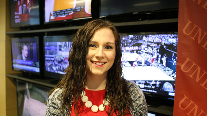 Broadcasting student places third in Hearst TV competition