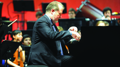 Piano series concludes with Garrick Ohlsson