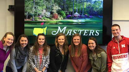 Masters hospitality team to include 12 UNL students